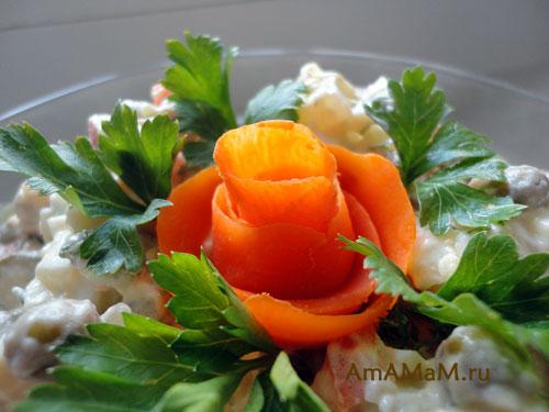 самые вкусные праздничные салаты рецепты с фото