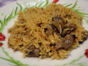 Рецепт плова из риса басмати с бараниной
