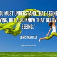 Seeing is Believing or Believing is Seeing