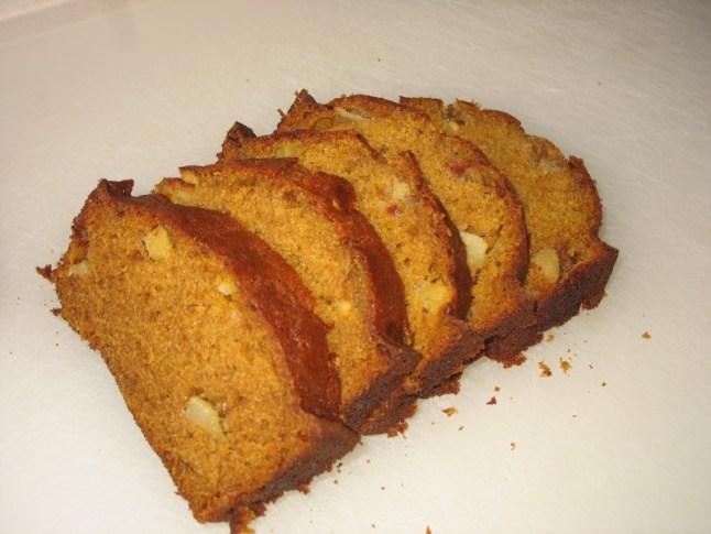 pumpkin-apple bread