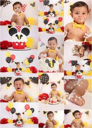 Amanda Skye photography, birthday + cake smash photography, OC newborn photographer, Orange County newborn photography