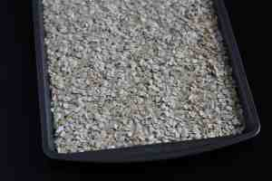 toasting granola, homemade granola bars