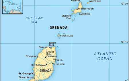 Mapa de Granada