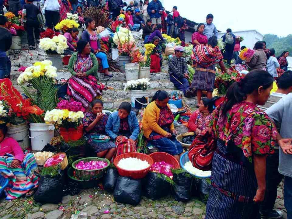 Mercado no Guatemala