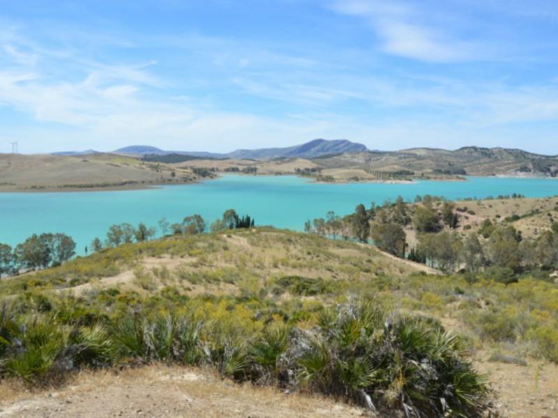 Lagoa próximo de Caminito del Rey
