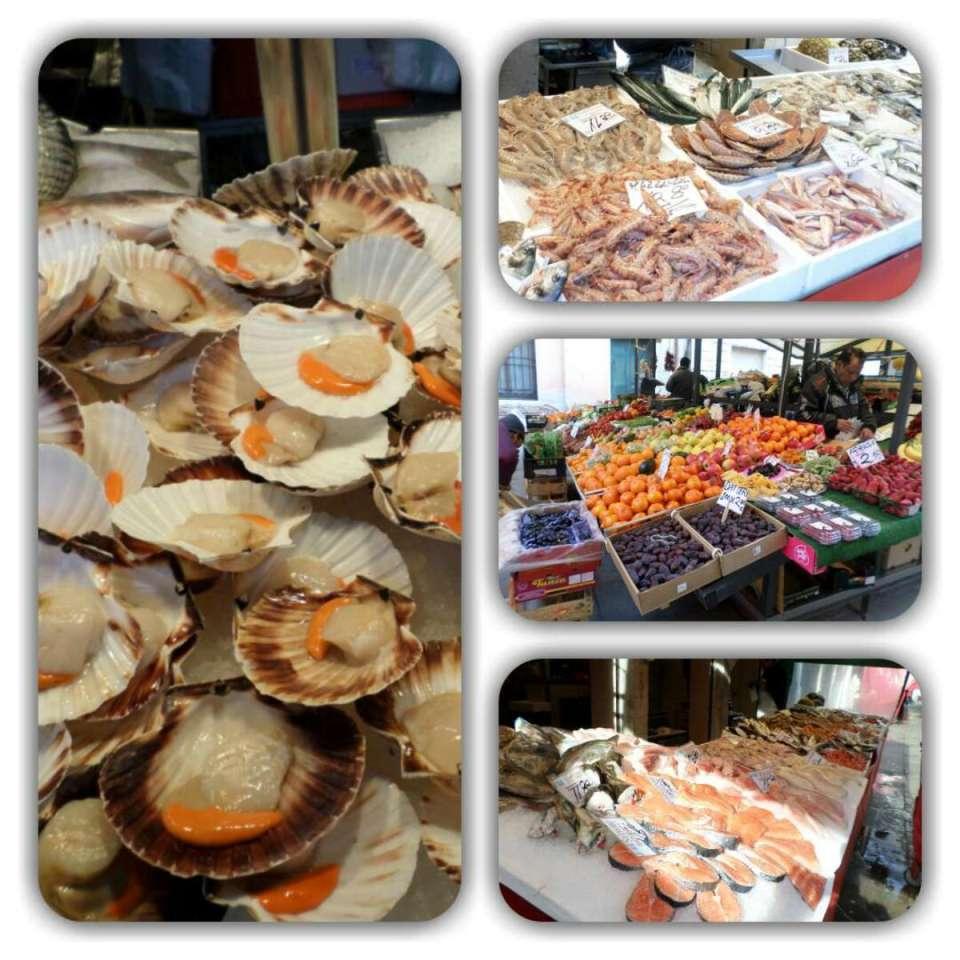 Itália-Veneza (Mercado Rialto)