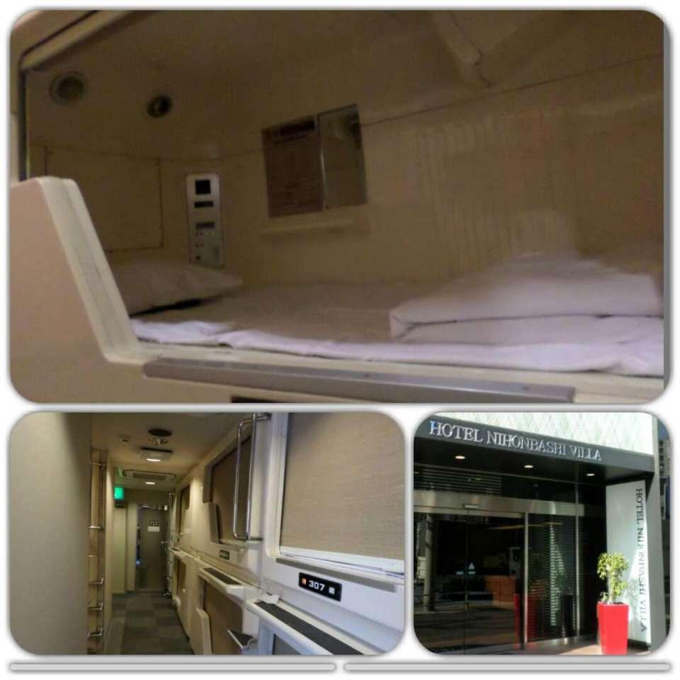 Japão-Tóquio (Hotel Cápsula)