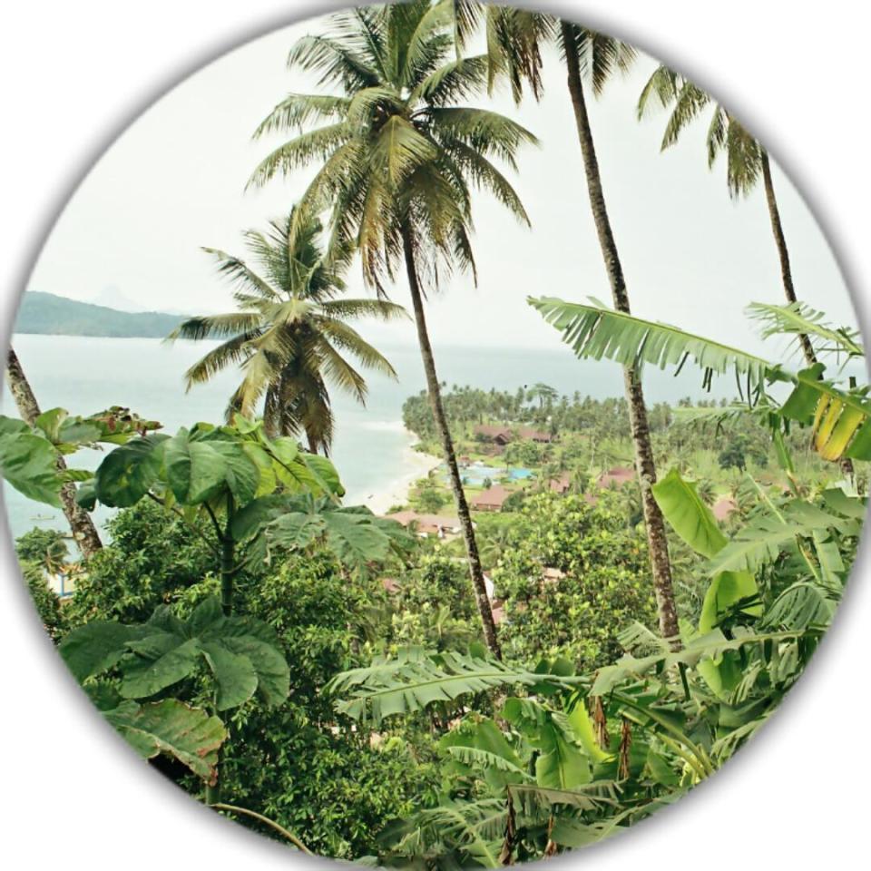 São Tomé e Príncipe-Ilhéu de Rolas