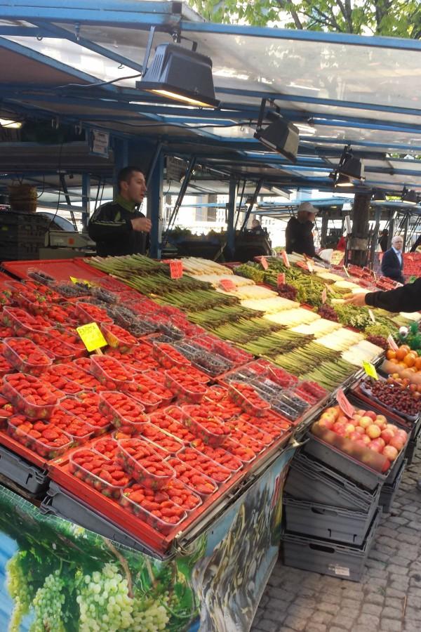 Mercado em Estocolmo