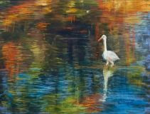 "Bill Philpott orignal pastel ""In a Peaceful Place"""