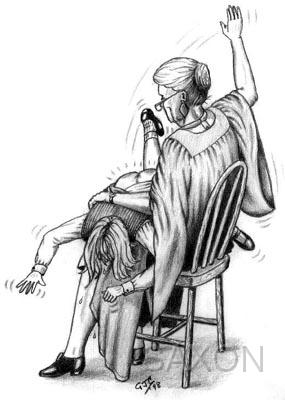women spanking girls