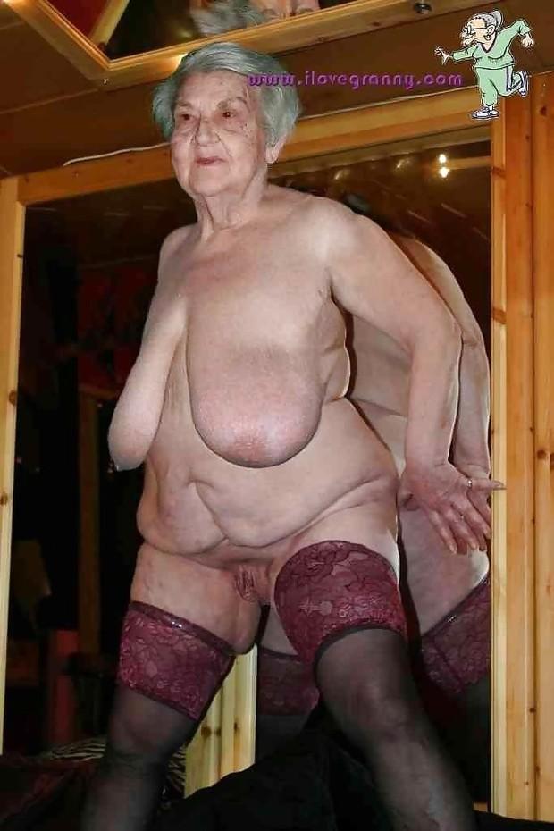 short bbw mature granny