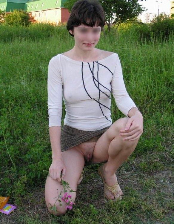 secretary upskirt no panties