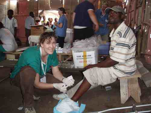 Christy in Haiti