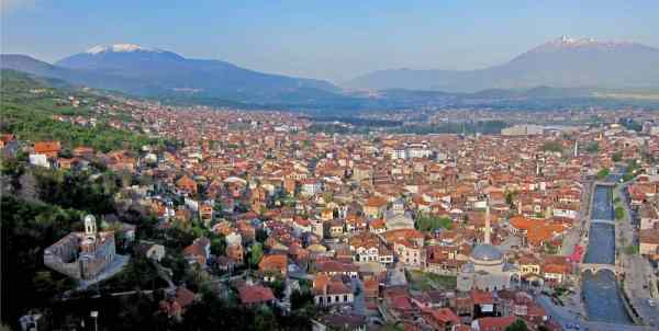 Fortress Above the City - Prizren, Kosovo - Photo