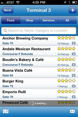 GateGuru iPhone app