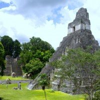 Tikal - Mayan Pyramids and Temple Ruins in the Jungle of Guatemala