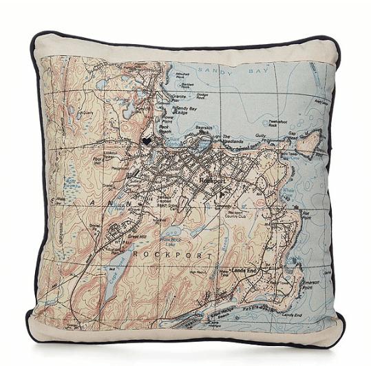 custom-map-pillow