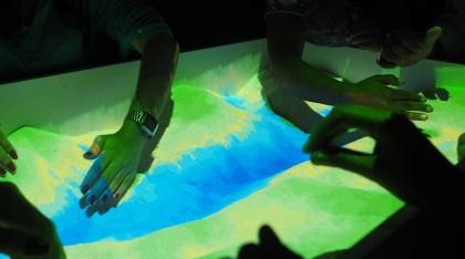SESC Madureira - caixa de areia