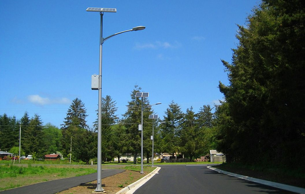 solar street light amb technologies