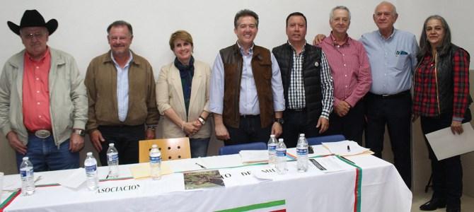 Javier Rosique León, nuevo presidente de la Asociación Mexicana Cuarto de Milla
