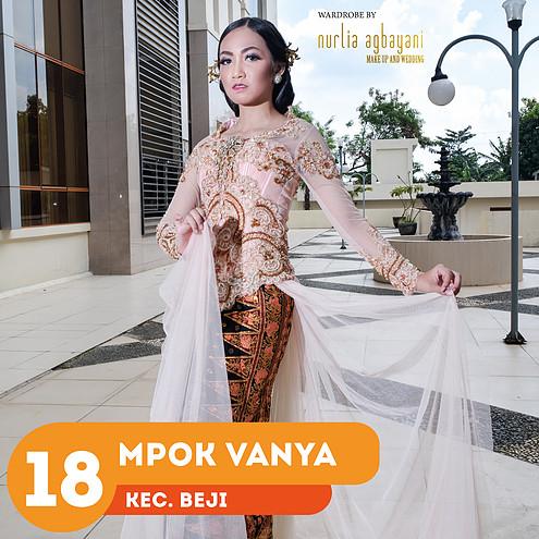 depokita - finalis mpok depok 2016 - mpok vanya