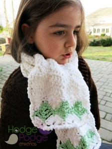 Evergreen Waves Scarf