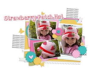 Strawberry Patch Hat