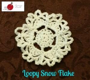 Loopy Snow Flake
