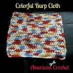 Colorful Burp Cloth