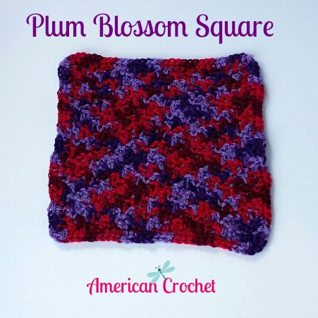 My Latest FREE Pattern ~ Plum Blossom Square