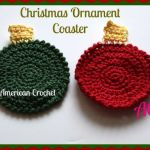 Christmas Ornament Coaster