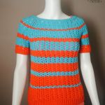 Ribbed-Shell-Tee-Womens-Crochet-Top-Pattern.-Available-in-sizes-small-through-XL.-Includes-schematic-and-charts.