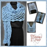 Diamonds are a girls best friend shawl