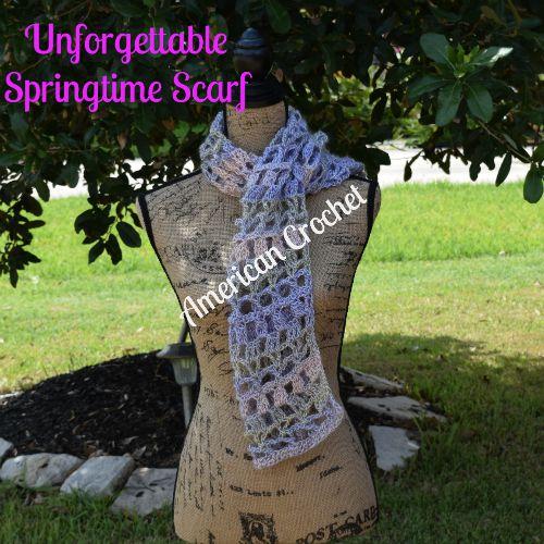 Unforgettable Springtime Scarf