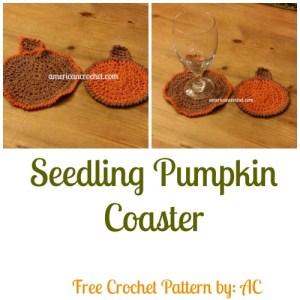 Seedling Pumpkin Coaster Collage