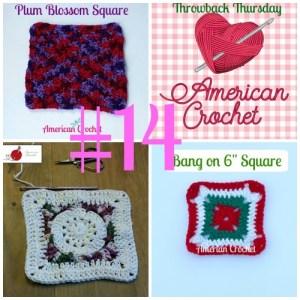 Throwback Thursday #14 ~ Crochet Square Patterns