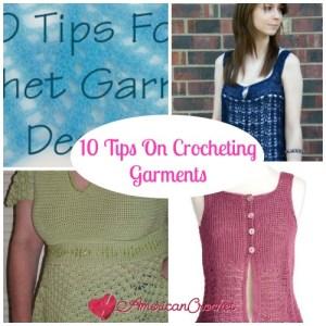 Tips n Tricks Crocheting GarmentsCollage