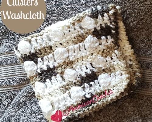 Clusters Washcloth