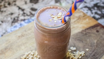 Chocolate Cake Batter Protein Smoothie