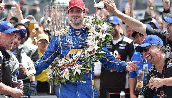 Alexander Rossi Crosses Finish Line On fumes To Take 100th Running Of Indy 500 ~ IndyCar