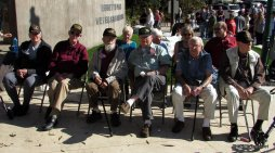 A Small Town America Veterans Day Ceremony Featuring Six WWII Vets