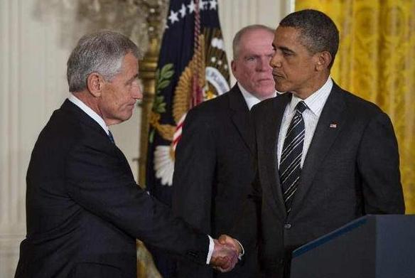 Obama fordított csíkos nyakkendője