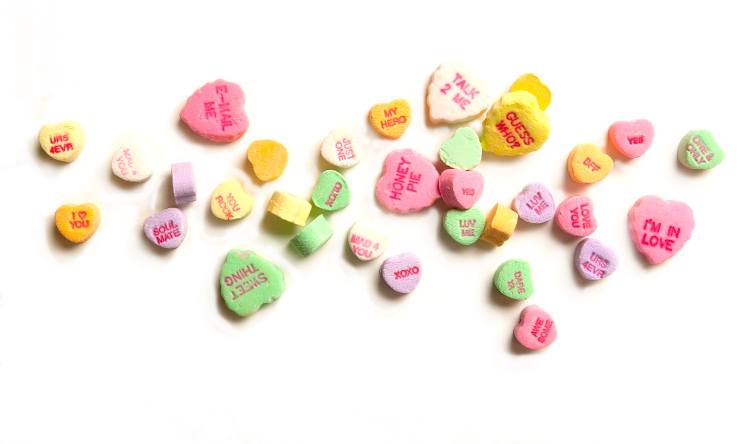 Valentines Day candy.