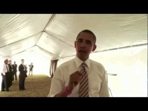 President Obama: Going Strong and Headed to Chicago to Early Vote – America Forward! Tour