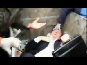 Ukrainians threw one corrupt politician into the rubbish dump outside the parliament………..