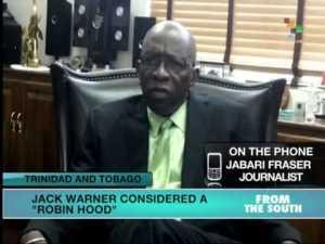 Trinidad and Tobago: Jack Warner ¿'Robin Hood' or  Corrupt Politician?
