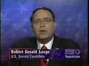 Vote Robert Gerald Lorge for US Senate Wisconsin 2006