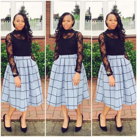 flare dress for church-amillionstyles2
