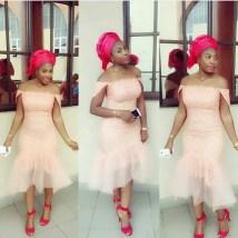 Colorful Asoebi In Lace @ny_hola amillionstyles
